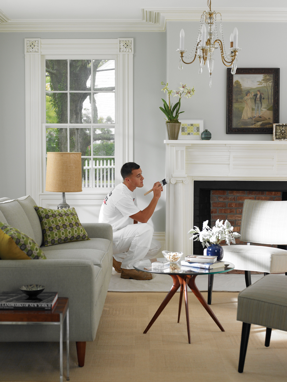 Interior house painting tips cleveland artisans for Home painting